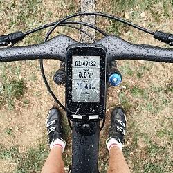 Die Datenübertragung beim Radtacho erfolgt per Funk, GPS oder Kabel. (#01)