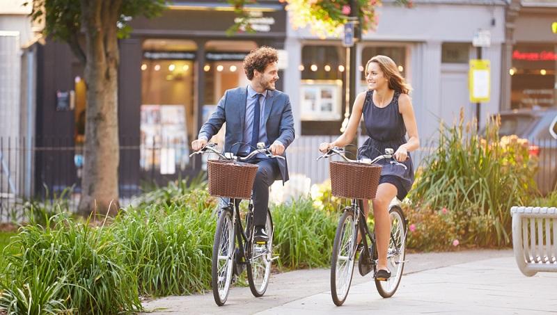 Cityräder sind vor allem für die Stadt geeignet, ihr Einsatzgebiet ist weniger umfassend als das des Trekkingbikes.