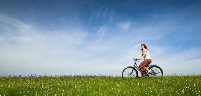 Fahrrad fahren: Gesund für Rücken, Knie & Co.?